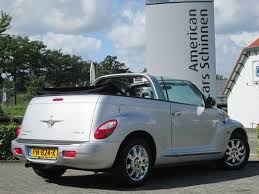 used chrysler pt cruiser cabrio 2 4i limited aut cabrio leder int