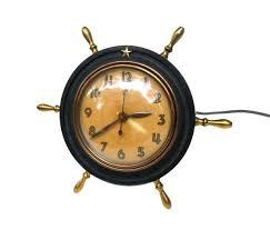 themed clocks nautical alarm clock nautical themed clocks we a variety