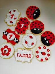 ladybug cookies ladybug cookie cake by danito1988 cakesdecor