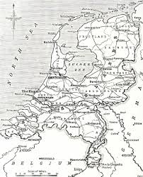 Holland Map File Map Of Neutral Holland 1914 1918 Jpg Wikimedia Commons