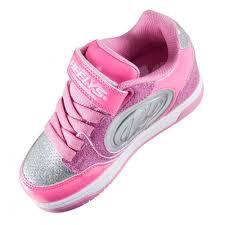 heelys light up shoes heelys x2 plus light up shoes neon pink pink silver skates co uk