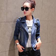 light blue cropped jean jacket cropped jean jacket light blue bomber short denim jakcets jaqueta
