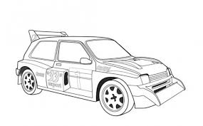 mg metro 6r4 car coloring free cars coloring pages