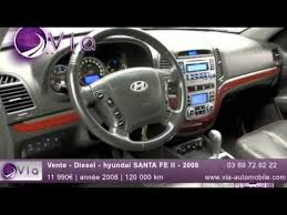 hyundai santa fe 2008 diesel vente diesel hyundai santa fe ii 2008