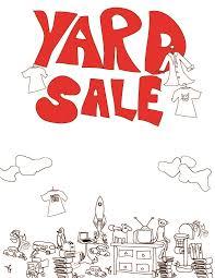 make yard sale flyers cook party enjoy