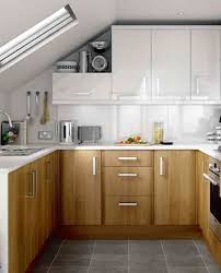 modern u shaped kitchen design idea small kitchen with white