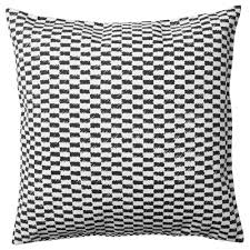 Living Room Masculine Black And White Throw Pillow Black Velvet