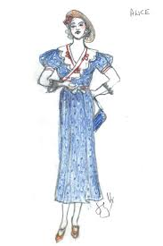 a costume sketch from you can u0027t take it with you by tony nominated