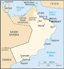 middle east map gulf of oman oman products and arabic languages