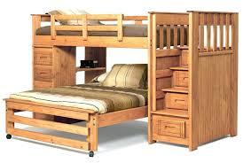 loft beds l shaped loft bed plans bunk with ladders beds diy l