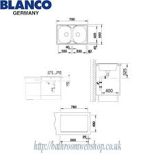 Stainless Steel Kitchen Sinks BLANCO Tipo  Compact C Stainless - Compact kitchen sinks stainless steel