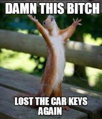 Lost Keys Meme - meme creator damn this bitch lost the car keys again meme