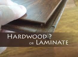laminate flooring vs wood flooring hardwood floors versus laminate home design