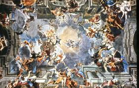Baroque Ceiling by Baroque Era Mary Grive