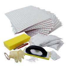 diy l and stick tile kit a backsplash in a box it includes essential tools to get a kitchen backsplash done in a few hours