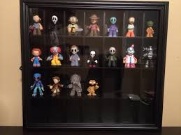 pint glass display cabinet mystery miniis display curio cabinet funko funatic