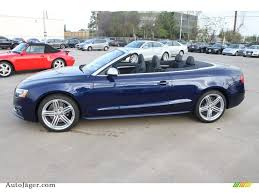 convertible audi 2013 2013 audi s5 3 0 tfsi quattro convertible in estoril blue crystal