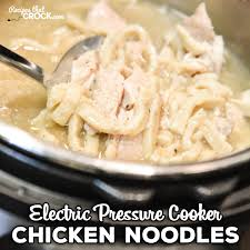 are you looking for a great instant pot recipe for chicken noodles