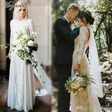 bohemian wedding dresses real picture lace bohemian wedding dresses vintage lace