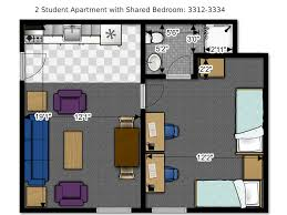 in apartment floor plans floor plans office of residence of wisconsin
