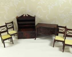 Dollhouse Dining Room Furniture Vintage Renwal 5 Dining Room Renwal Dining Room Buffet