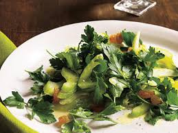 Celery Salad Celery And Parsley Salad With Golden Raisins Recipe Myrecipes