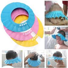 baby shower cap online cheap adjustable infant shoo cap bath cap baby shower