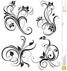 vector vintage floral ornament stock photos image 30557963