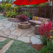 Backyard Flagstone Natural Stone Natural Stone Thin Veneer Flagstone Paving Cut