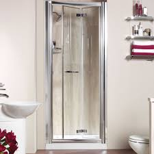 accordion shower doors model u2014 farmhouse design and furniture