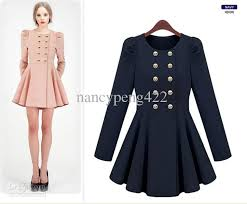 ruffles trench coats for woman cute bodycon maxi dresses navy blue