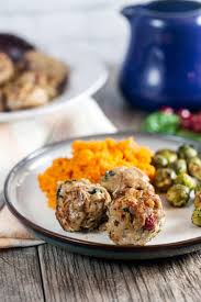 thanksgiving meatballs turkey and cranberry meatballs healthy