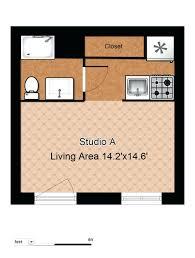 garage studio apartment floor plans studio apartment floor plans with dimensions garage laferida com