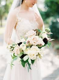 White Rose Bouquet Wedding Bouquets With Roses Brides