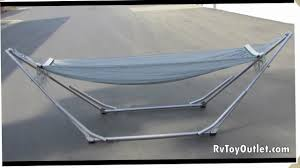 how to assemble yosemite valley gear u0027s folding hammock