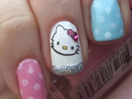hello kitty nails designs gallery nail art designs