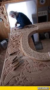 cool wood carvings viking wood carving the meta picture