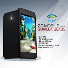 buy swipe 12 7 cm 3g mobile with gorilla glass online at best