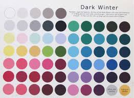 Fall Color Palette by The Dark Winter Color Palette Please Take In To Consideration