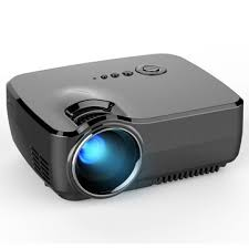 gp70 lcd portable led projector 1080p hd 1200 lumens usb fhd