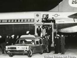 kennedy assassination air force one wright patterson afb ohio