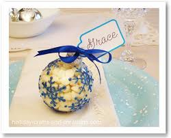 place cards ornaments