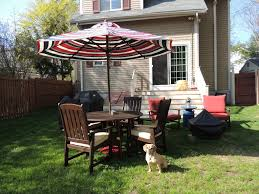 Large Umbrella For Patio Garden Enchanting Outdoor Patio Decor Ideas With Patio Umbrellas