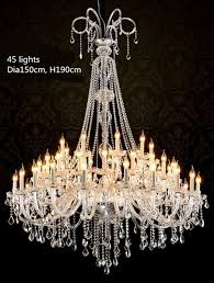 Ballroom Chandelier Ballroom 30 65 Pcs Large Led Chandelier Lighting Lustre Modern