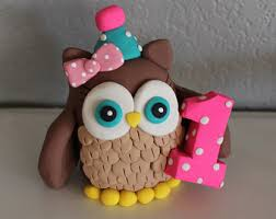 owl cake toppers owl cake toppers etsy