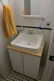 Ikea Hack Vanity Bathroom Interesting Design Ideas Using Silver Single Hole