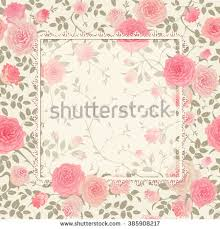 Shabby Chic Rose by Shabby Chic Rose Pattern Lace Frame Stock Vector 228966898