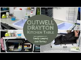 Outwell Drayton Kitchen Table YouTube - Outwell sudbury kitchen table