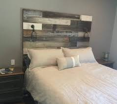 Distressed Wood Headboard Distressed Wood Headboard Gray Grey In Designs 16 Willothewrist