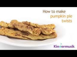 thanksgiving recipes for pumpkin pie twist kindermusik